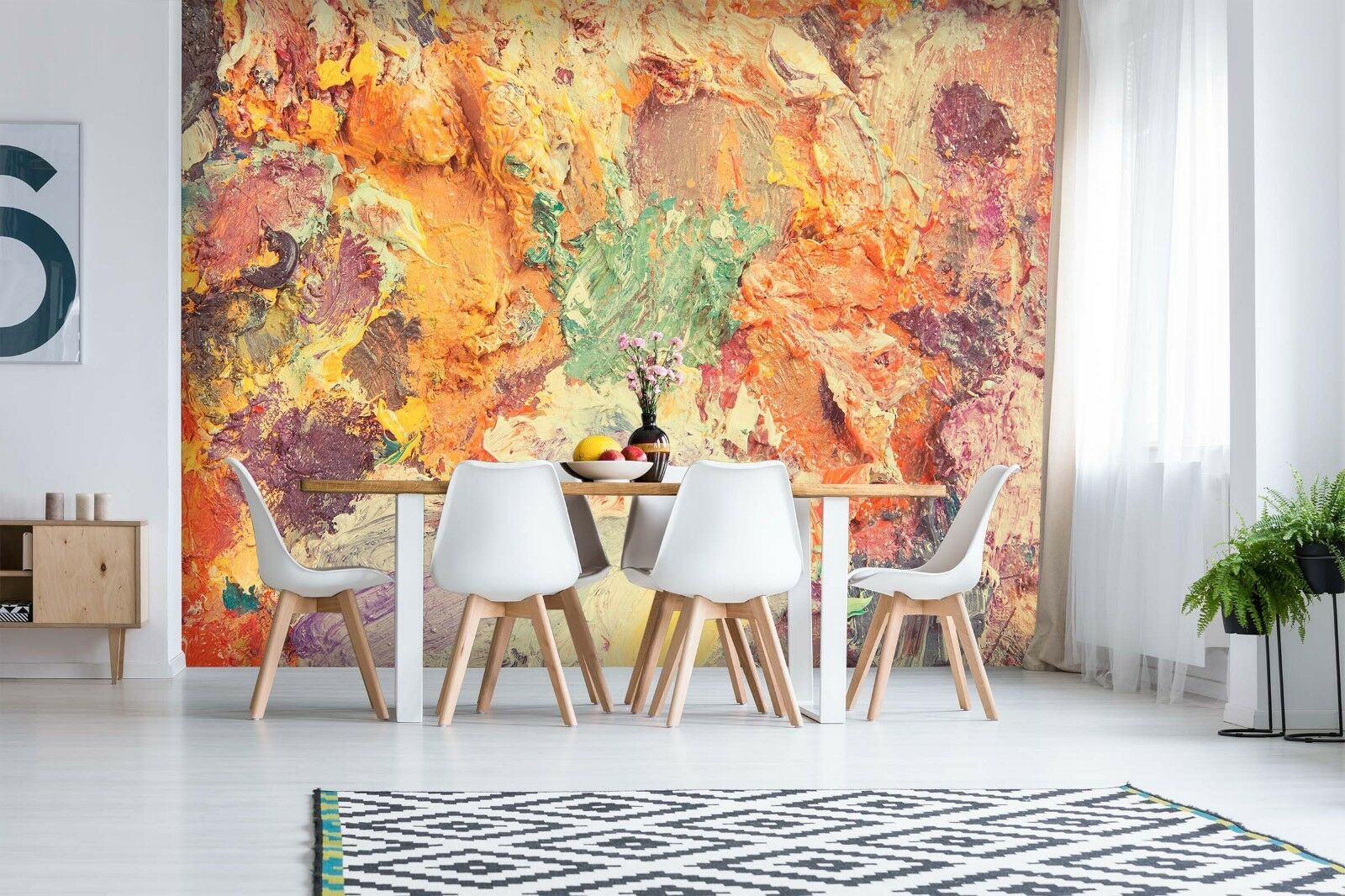 3D Farbeed Paint Graffiti 4 Wallpaper Murals Wall Print Wallpaper Mural AJ WALL