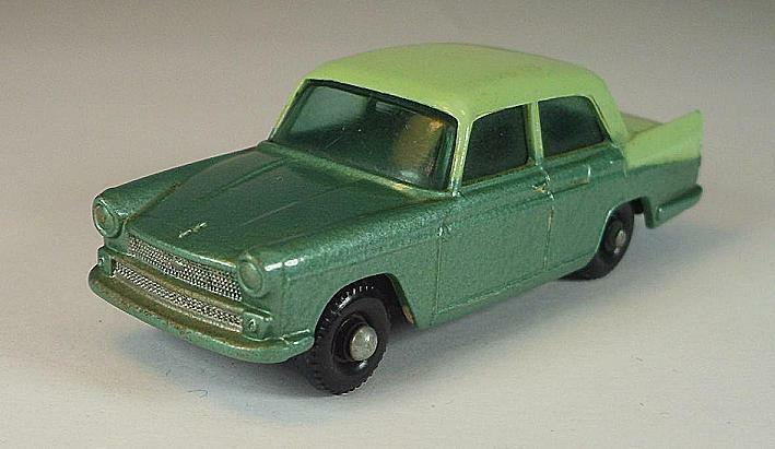 Matchbox Regular Wheels No 29 B Austin a55 Cambridge Green BPW Lesney 2