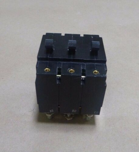 EATON AIRPAX 45 AMP CIRCUIT BREAKER 208V 3 POLE 50//60HZ
