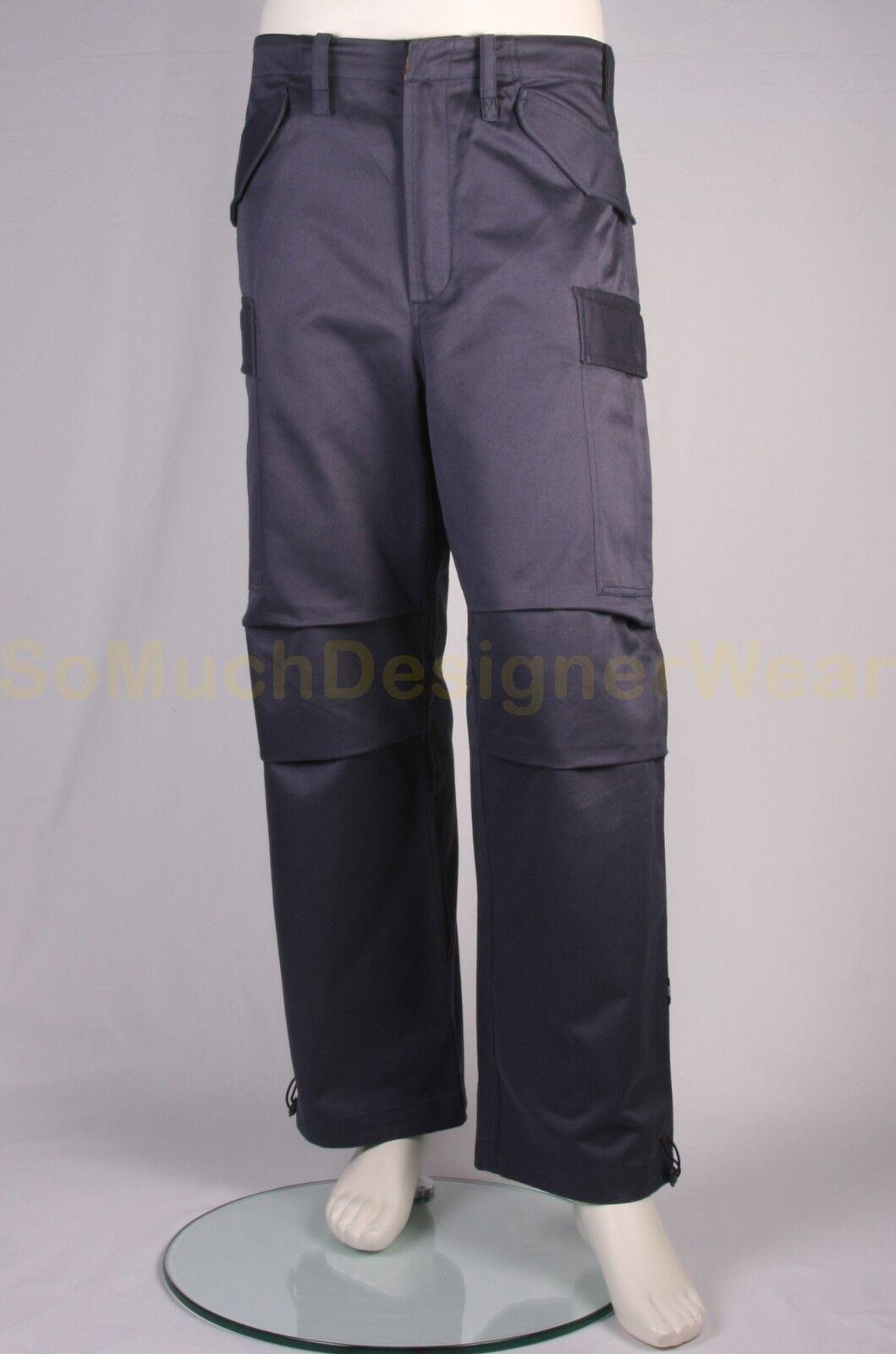 MAHARISHI broek cargo pants S bluew NIEUW+LABELS ap €225 (4)