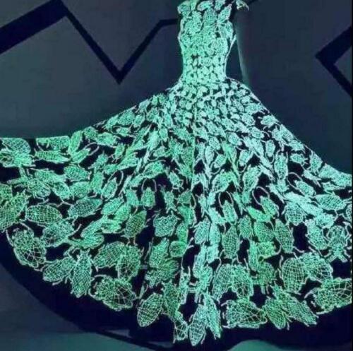 1000 Yards Sewing Thread Spool Luminous Glow in the Dark Machine Embroidery DIY