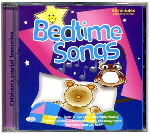 Bedtime Songs Cd Nursery Rhymes