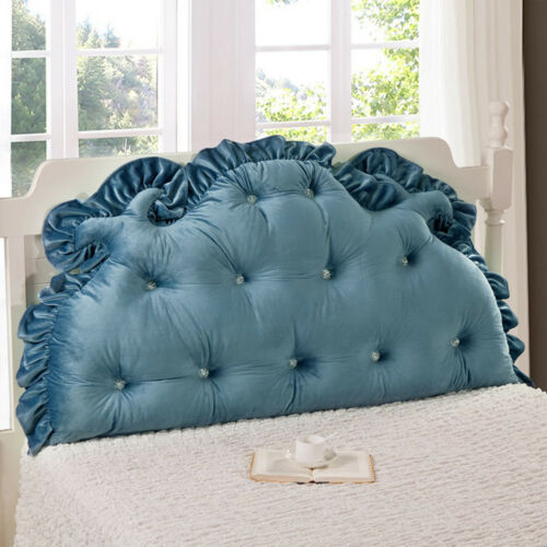 Huge Soft Headboard Support Reading Head Pillow King Queen Bed Home Footboad New