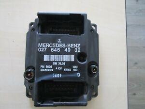 Mercedes VITO 113 (638) 4 Zyl. PMS 1996-2003 Motorsteuergerät Siemens 0275457932
