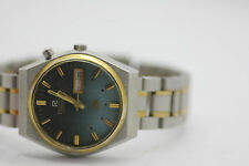 Vintage Ricoh Automatic Day Date 21 Jewel Automatic Mens Watch Two Tone