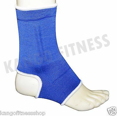 Muay Thai Ankle Supports Kango Fitness MMA Compression Kick Boxing Wraps Pair