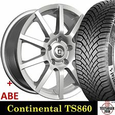 """16"""" ABE Winterräder Conti 860 Testsieger DA 205/55 für VW Golf Sportsvan AUV"""