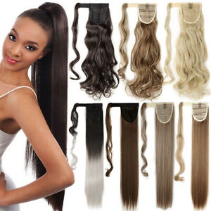 Promo-Sale-Clip-In-Hair-Extensions-Pony-Tail-Wrap-Around-Ponytail-Ombre-Dip-Dye