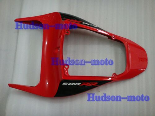 Rear Tail Cowl Fairing For HONDA CBR600RR 2007-2012 CBR 600RR 10 11 12 F5 Red//BK