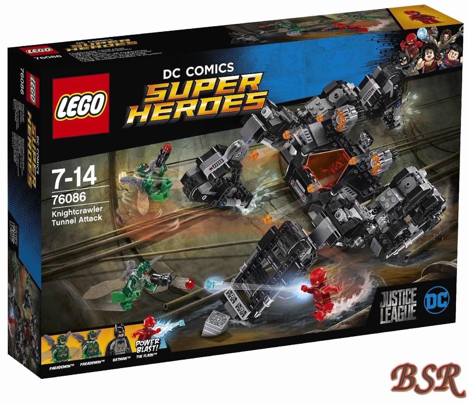 LEGO® Super Heroes  76086 Knightcrawlers Tunnel-Attacke & 0.- Versand & NEU OVP