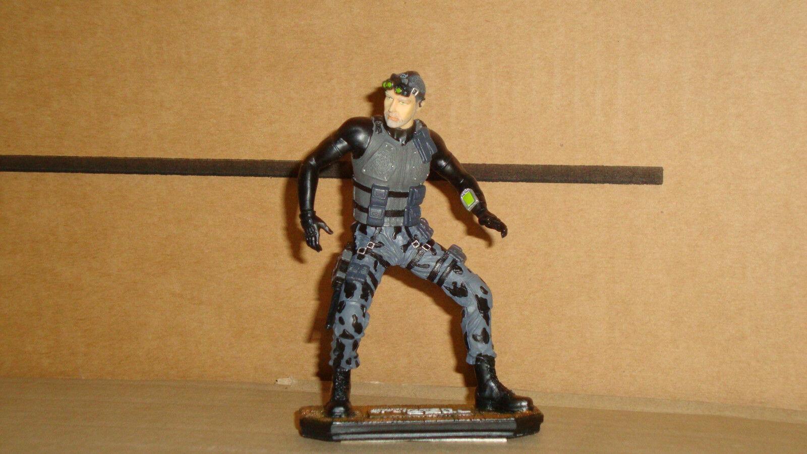 Splinter Cell UBISOFT Original Sam Fisher  résine Figure nouveau in Prougeected Case  bien vendre partout dans le monde