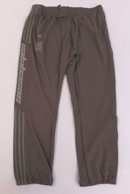adidas Men's Yeezy 2018 Calabasas Track Pants Hd3 Umbercore EA1901 Large
