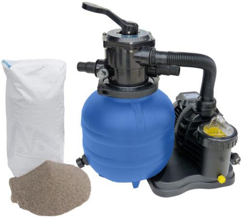 Sandfilteranlage Speck Pumpe 5 m³ Poolfilter inkl 25 kg Filtersand Filteranlage