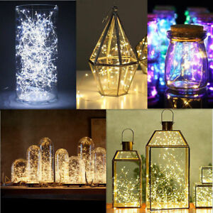 20//50//100 LED String Copper Wire Fairy Lights Battery Operated Waterproof New