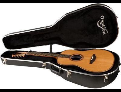 Acoustic Electric Guitars Guitars & Basses Steady Neu Ovation Fd14av50-4 50 Jubiläum Folklore Akustische-elektrische Gitarre Highly Polished