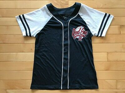 Outerstuff MLB Girls Youth Boston Red Sox Pink Glitter White Replica Jersey