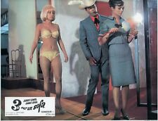 SEXY LESLIE PARRISH JERRY LEWIS GILAN GOLAN THREE ON A COUCH 1966 LOBBY CARD #5