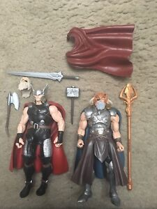 Marvel Legends Sélectionnez Skrull, Odin, Thor, Spiderman, Avengers Lot