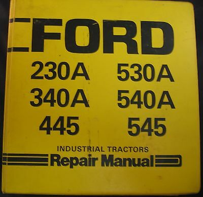 ford       industrial tractors