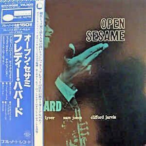 Freddie-Hubbard-Open-Sesame-LP-33-ST84040-Japan-GXK8022
