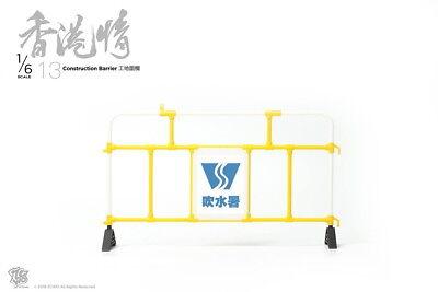 Yellow 1//6th Scale ZCWO Hongkong Street scene NO.03 Construction Traffic Cone