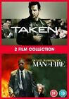 Taken/man on Fire 5039036068154 With Liam Neeson DVD Region 2