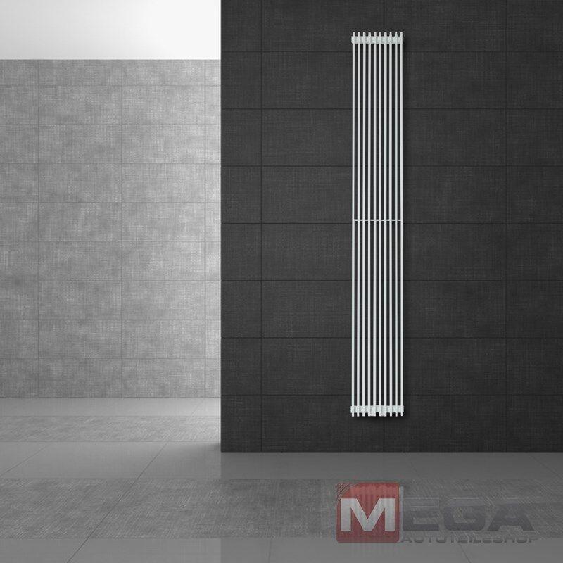 95 X 1500 mm Tilbrook Designheizkörper Badheizkörper Heizung Handtuchheizer Weiß