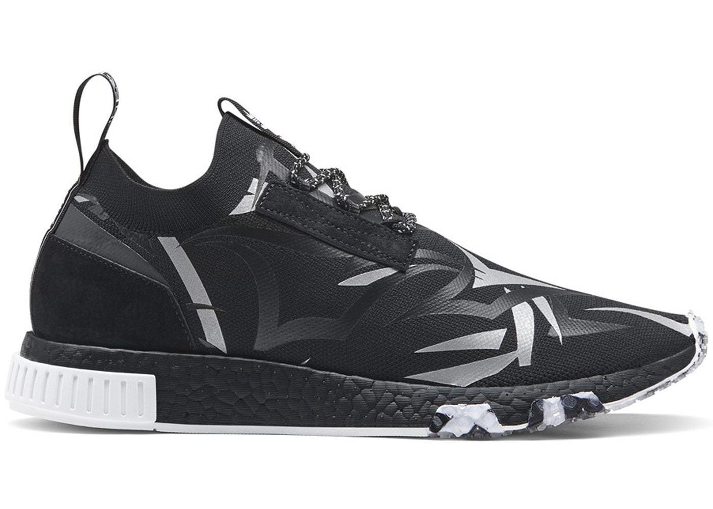 Adidas nmd racer saft hk schwarz / weiß / größen oreo - db1777 mens größen / 6febb9