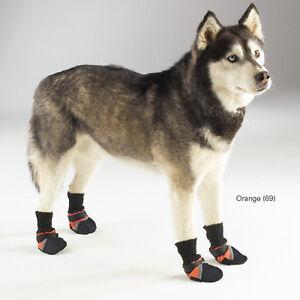 Guardian-Gear-Dog-Boots-Shoes-REFLECTIVE-XXXS-XXL-Pink-Yellow-Blue-Orange