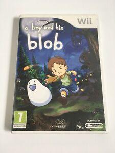 E-il-suo-ragazzo-A-Blob-NINTENDO-WII-Wii-GIOCO-PAL-U-Rapido-e-gratuito-UK