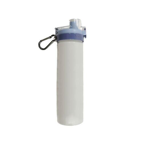 700ml Sports Water Bottle w Locking Flip-Flop Leak Proof BPA Free Made from Corn