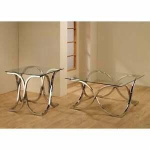 Coaster-Company-Chrome-Tempered-Glass-Coffee-Table-36-034-x-Chrome-36-034-x-36-034-x-18