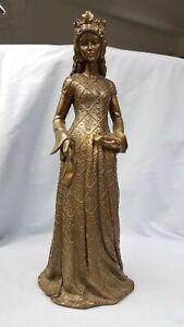 Medieval-Queen-Princess-Statue-Figurine-Rare-Unique-HTF-One-of-a-Kind