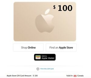 apple store gift card validity