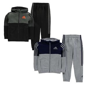 Details zu adidas Jungen Kinder Trainingsanzug Sportanzug Jogginganzug Tracksuit Jogger 088