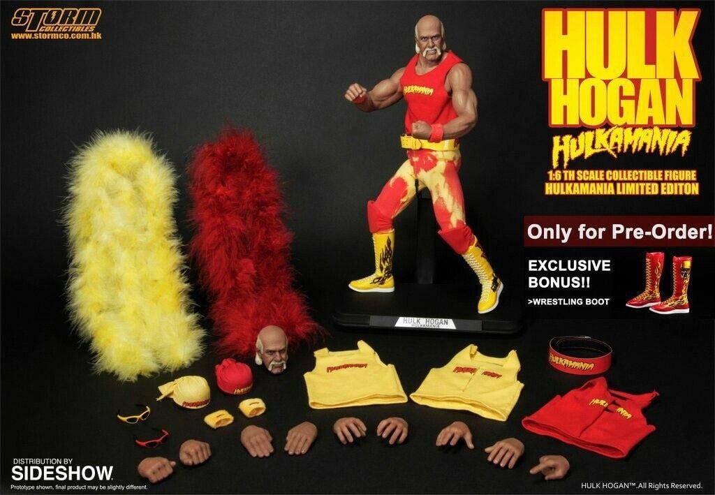 OFFERTA 11 01 20 STORM Hulk Hogan HULKMANIA 1 6 Figure