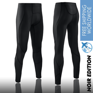 Men/'s Cycling Running Compression Gym Tights Sports Pants With Pocket