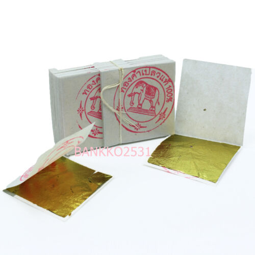 100 GENUINE REAL PURE GOLD LEAF 24K EDIBLE FACIAL MASK FREE SHIPPING