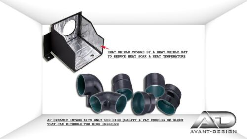10-15 For CHEVROLET CAMARO 6.2L 6.2 V8 SS AF DYNAMIC COLD AIR INTAKE HEATSHIELD