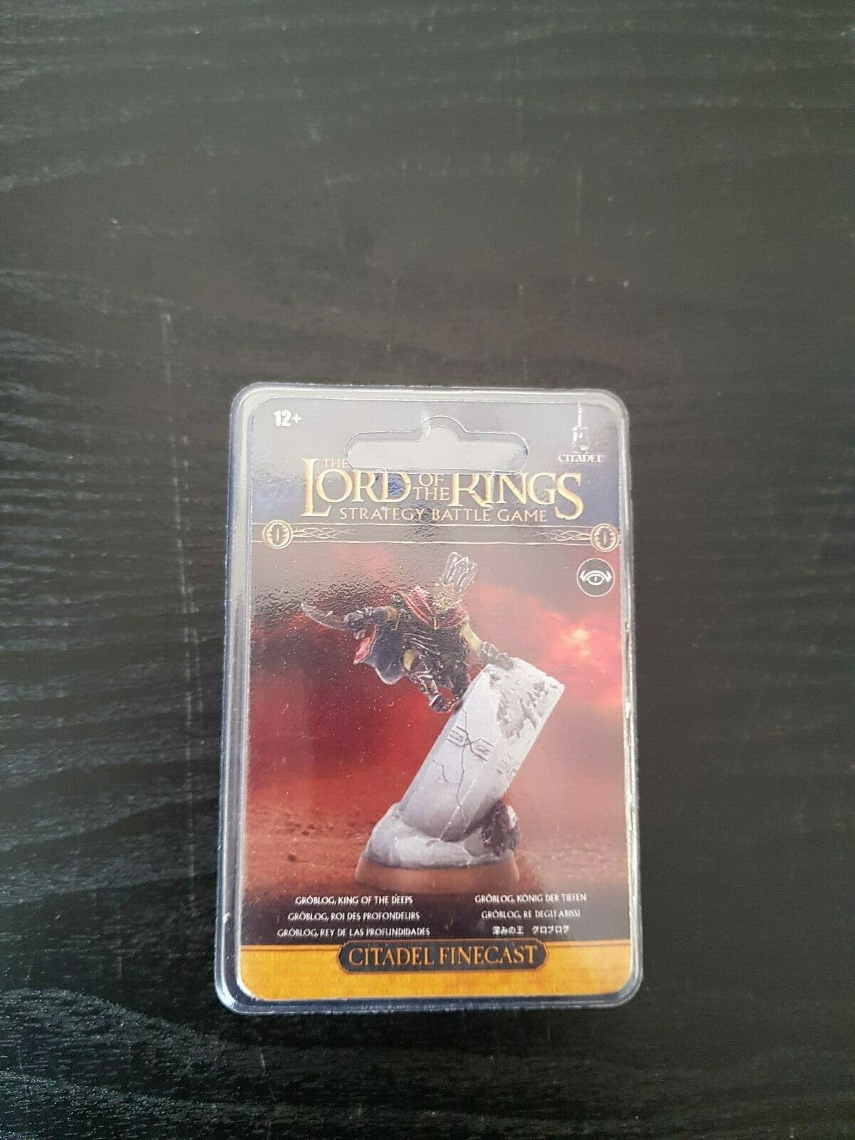Games Workshop Lord of the Rings Goblog King Of The Deeps LOTR