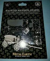 Disney Parks Haunted Mansion Hearse 3d Metal Earth Model Kit