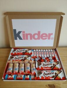 Détails Sur Kinder Chocolat Bueno Hippo Panier Cadeau Anniversaire Pâques Enfants Afficher Le Titre Dorigine