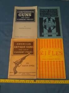 4-Vintage-Booklet-Lot-Confederate-Union-Antique-Guns