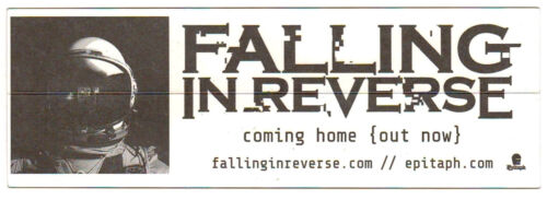 FALLING IN REVERSE Coming Home 2017 Ltd Ed RARE Sticker FREE Rock Punk Stickers