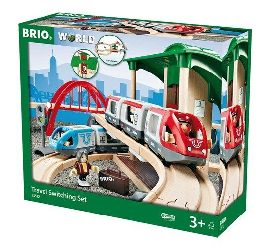 BRIO 33512 Travel Switching Train Set.Brand new. Free Post.Ship from Melbourne.