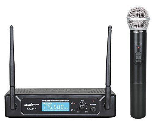 ZZIPP TXZZ101 Radiomicrofono a Gelato Palmare wireless VHF 175,50 MHZ