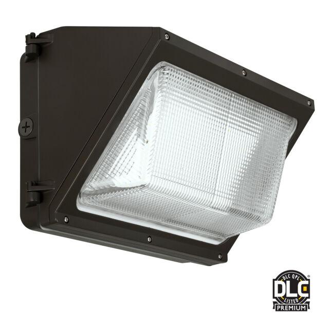 LED Wall Pack Light 60 Watt Area Light Parking Lot Photo Control 5K 120//277 VAC