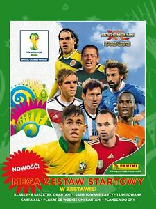 PANINI-FIFA-World-Cup-Brasil-MEGA-ZESTAW-MEGA-STARTER-PACK-FOLIA-2-LIMITED-XXL