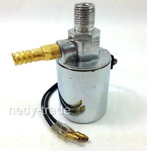 12V 24V Tromba ad Aria Elettrovalvola Resistente Elettrico Valvola 0.6cm Cromato
