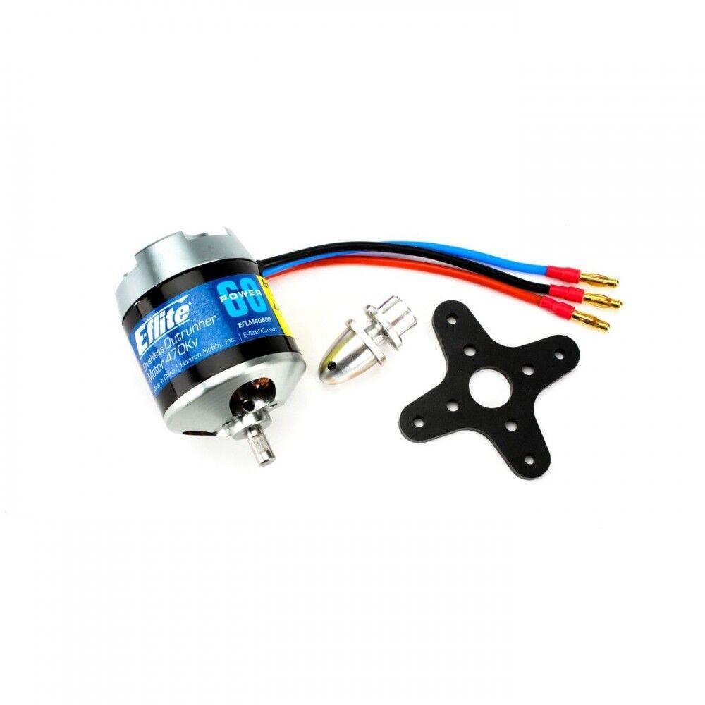 E-flite energia 60 Brushless Outcorrerener Motor   470Kv EFLM4060B  vendita all'ingrosso